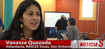 Voluntarios se suman a grupo para ayudar a inmigrantes en San Antonio (VIDEO)