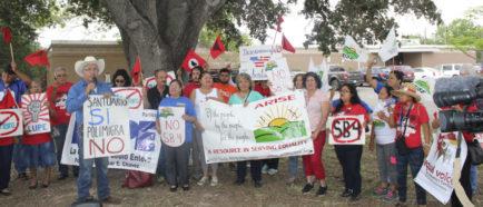 Protesta SB4 en Texas
