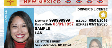Licencia de manejo Real ID