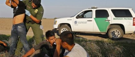 inmigrantes detenidos  frontera patrulla
