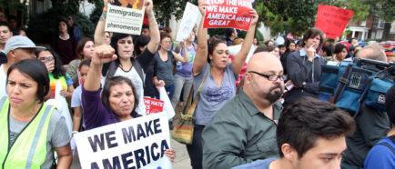 ciudades santuario, inmigrantes, protestas