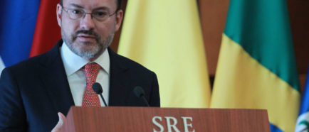 Videgaray Canciller mexicano