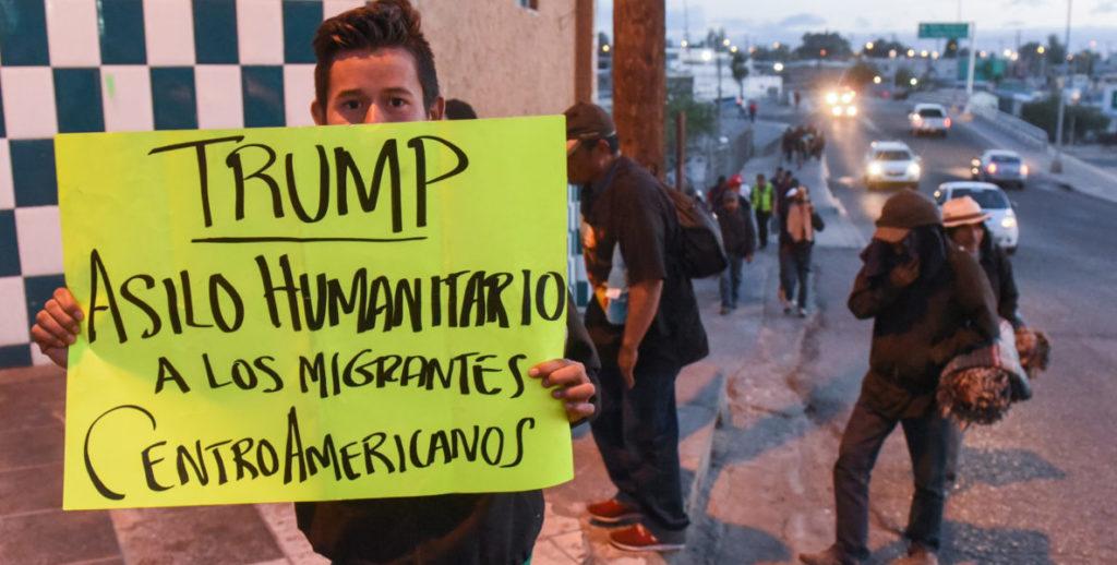 refugiados inmigrantes centroamericanos
