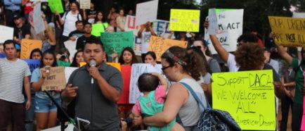 NC DACA manifestantes