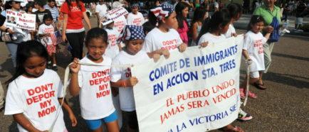 menores niños deportaciones inmigrantes