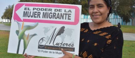 """Legisladora mexicana resalta que mujeres indígenas viven con temor de """"migra"""""""