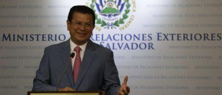 El Salvador TPS Canciller Martinez
