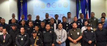 Estados Unidos entrena a autoridades mexicanas para combatir tráfico de droga