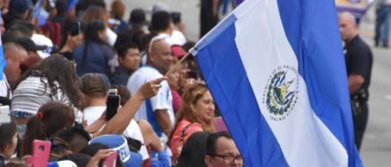 Centroamericanos en EEUU El Salvador