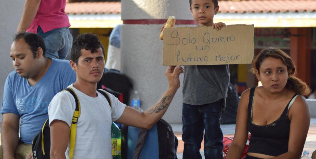 Mexico ayuda a refugiados