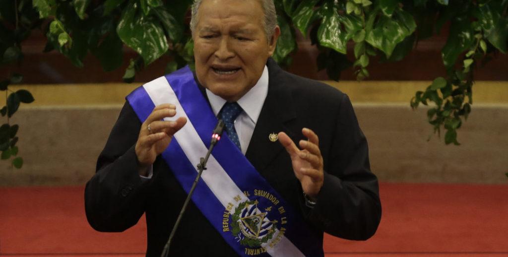 PRESIDENTE SALVADOREÑO