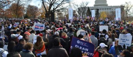 Movimiento por TPS y Dreamers en Capitolio