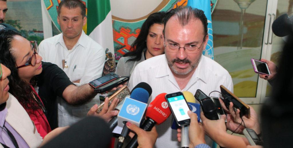 canciller mexicano Villagaray