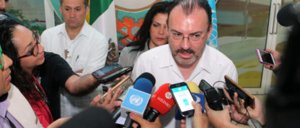 canciller mexicano Villagaray
