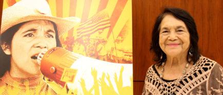 Dolores Huerta, una mujer acostumbrada a romper barreras