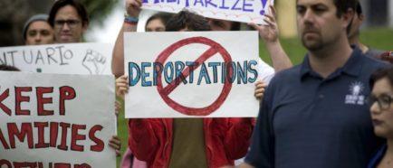 inmigrantes deportaciones protestas