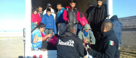 centroamericanos rescate inmigrantes indocumentados México