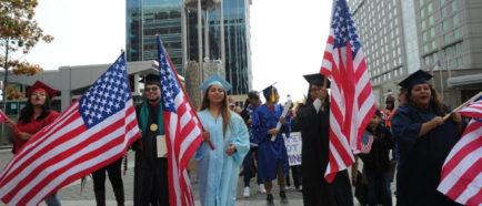 Dreamers marchan en NC