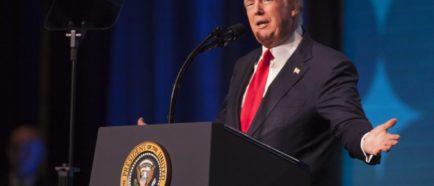El presidente Donald J. Trump