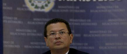 canciller de El Salvador TPS Hugo Martinez
