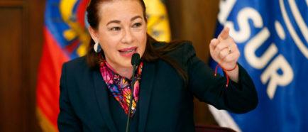 canciller de Ecuador Maria Espinosa
