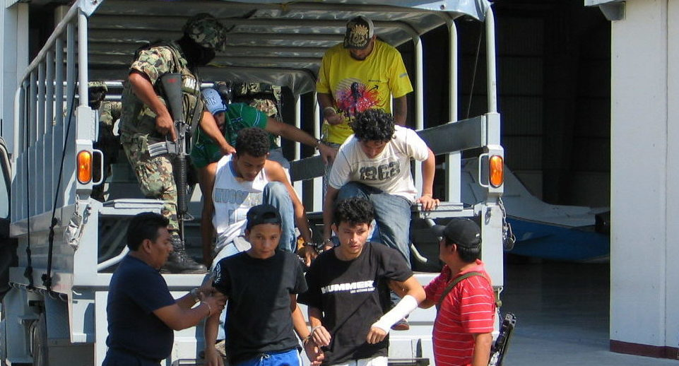 inmigrantes frontera  detenciones mexico