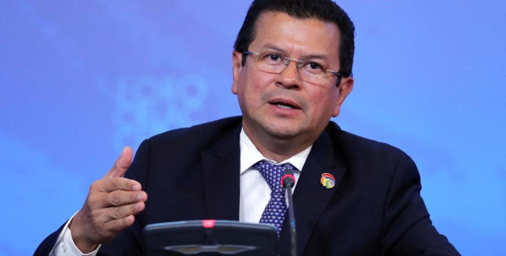 canciller El Salvador Hugo Maryinez