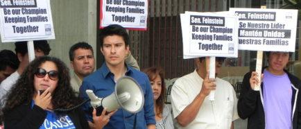 activistas protestas inmigrantes