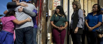 familias inmigrantes frontera