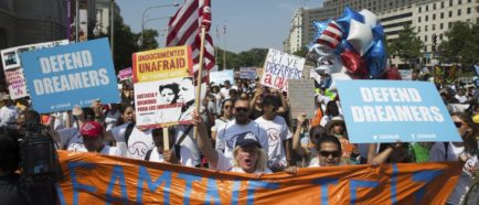 DACA manifestantes