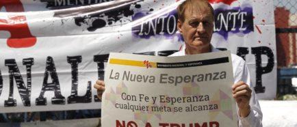 Manifestación contraTrump  NoTrump Mexico DACA inmigrantes