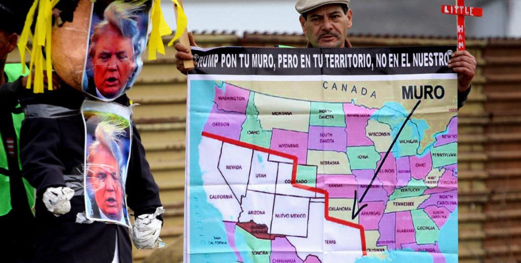 Ministro mexicano dice que no hay relación entre negociación del TLCAN y muro