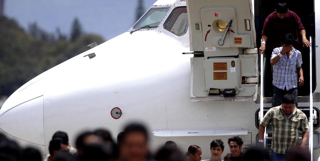 deportaciones repatriaciones aviones