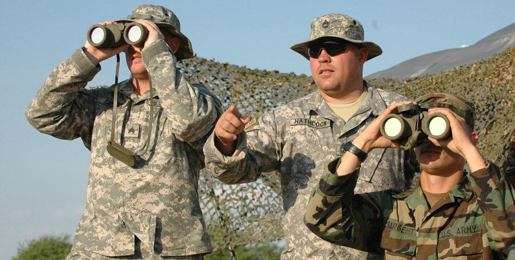 militares soldados frontera