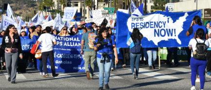 TPS marcha inmigrantes