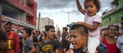 caravana inmigrantes centroamericanos