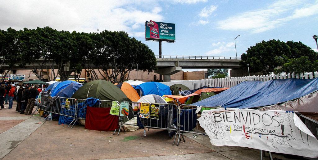 caravana inmigrante centroamericanos asilo