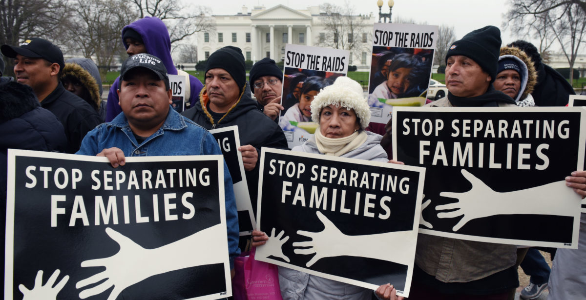 inmigrantes  familias