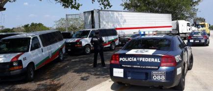 Interceptan a 136 migrantes centroamericanos, incluidos 49 menores en México