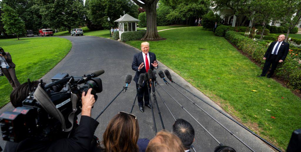 Trump abandona la Casa Blanca para ir a Nueva York