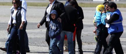 Custodia de niños que entraron indocumentados