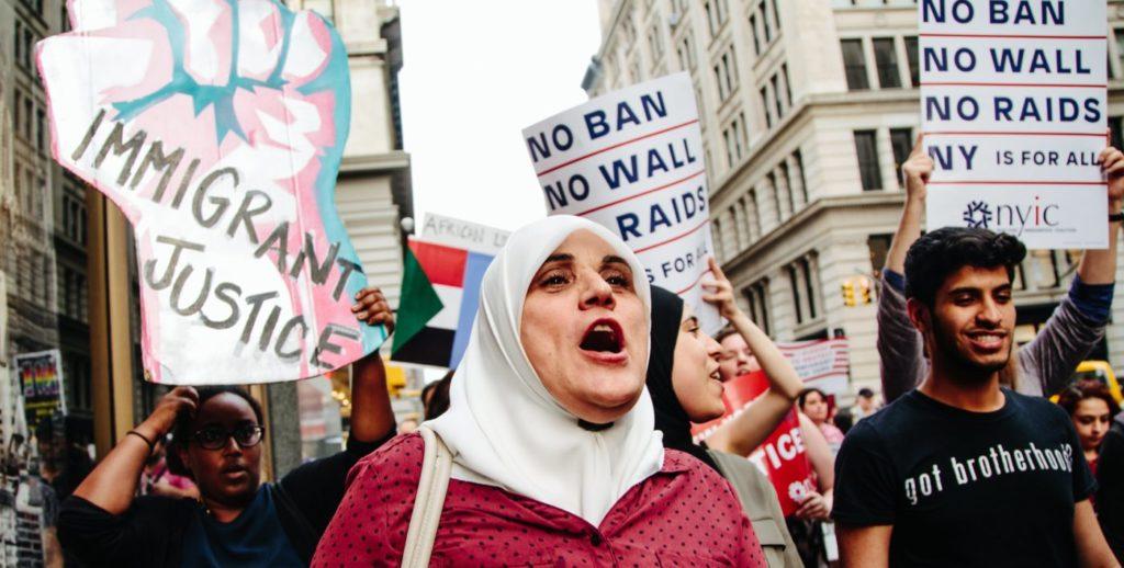 musulmanes veto migratorio refugiados inmigrantes