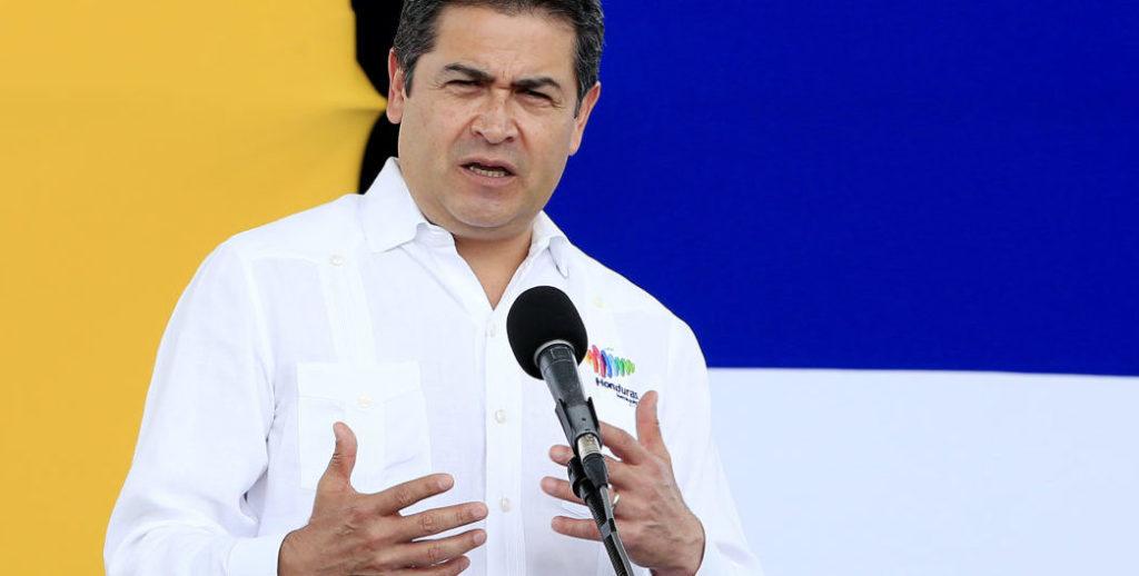 presidente Honduras Juan Orlando Hernández