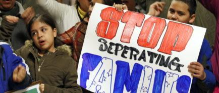 Familias inmigrantes menores separacion