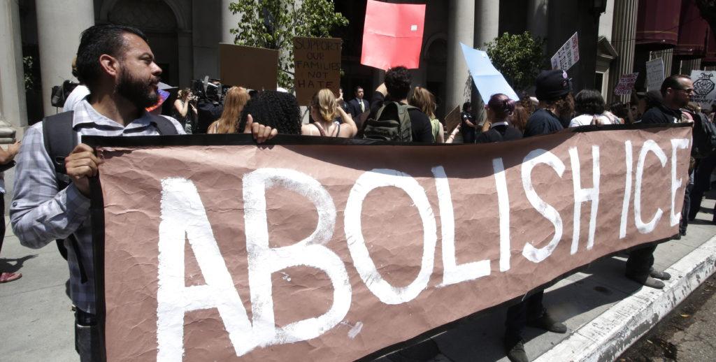Manifestación contra el fiscal estadounidense y la política de inmigración del Gobierno Trump