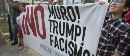protesta contra trump