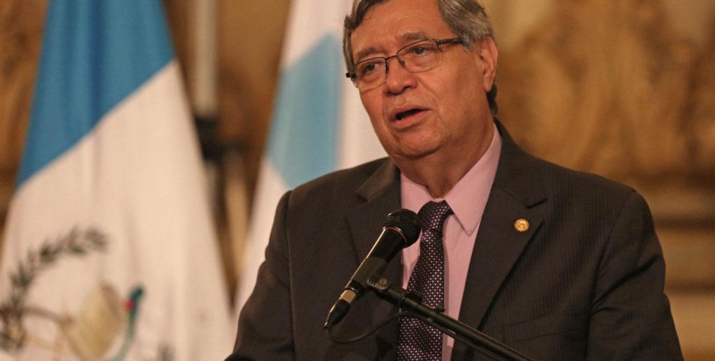 vicepresidente de Guatemala, Jafeth Cabrera