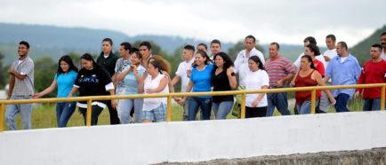 CIUDADANOS HONDUREÑOS LLEGAN AL AEROPUERTO INTERNACIONAL DE TONCONTIN TRAS SER DEPORTADO DE ESTADOS UNIDOS