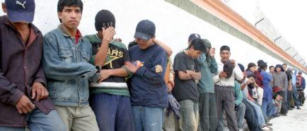 CENTROAMERICANOS detenciones  inmigrantes