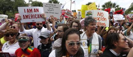 Inmigración a lo largo de la frontera con México en Texas